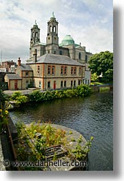 athlone, churches, county shannon, europe, ireland, irish, shannon, shannon river, vertical, photograph