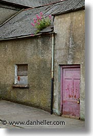 athlone, county shannon, doors, europe, ireland, irish, pink, shannon, shannon river, vertical, photograph