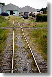 athlone, county shannon, europe, ireland, irish, shannon, shannon river, tracks, trains, vertical, photograph