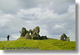 architectural ruins, clonmacnois, county shannon, dublin, europe, horizontal, ireland, irish, shannon, shannon river, photograph