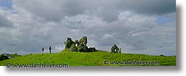 architectural ruins, clonmacnois, county shannon, dublin, europe, horizontal, ireland, irish, panoramic, shannon, shannon river, photograph