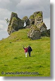 architectural ruins, clonmacnois, county shannon, europe, ireland, irish, shannon, shannon river, vertical, photograph