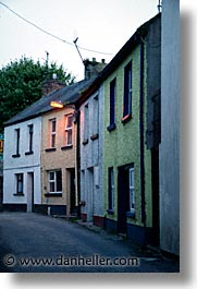 buildings, county shannon, europe, ireland, irish, killaloe, shannon, shannon river, slow exposure, vertical, photograph