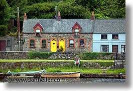 county shannon, dublin, europe, horizontal, houses, ireland, irish, killaloe, shannon, shannon river, photograph