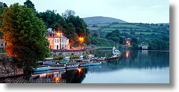 county shannon, dublin, europe, horizontal, houses, ireland, irish, killaloe, long exposure, shannon, shannon river, photograph
