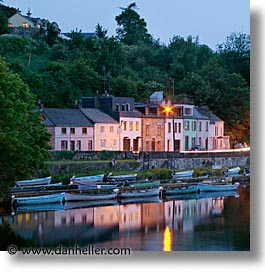county shannon, dublin, europe, houses, ireland, irish, killaloe, long exposure, shannon, shannon river, square format, photograph