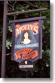 county shannon, europe, ireland, irish, killaloe, mollys, pub, shannon, shannon river, vertical, photograph