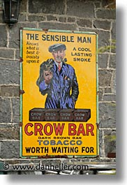 bars, county shannon, crows, europe, ireland, irish, shannon, shannon river, signs, vertical, photograph