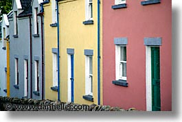 colored, county shannon, dublin, europe, homes, horizontal, ireland, irish, mount shannon, shannon, shannon river, photograph