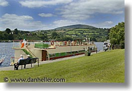 boats, europe, horizontal, ireland, irish, killaloe, river barge, shannon princess, shannon princess ii, water vessel, photograph