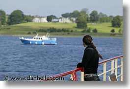 boats, europe, girls, goils, horizontal, ireland, irish, paulie, people, river barge, shannon princess, shannon princess ii, water vessel, photograph