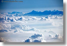 aerials, clouds, europe, horizontal, italy, photograph