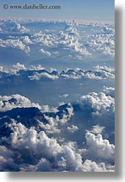 aerials, clouds, europe, italy, vertical, photograph