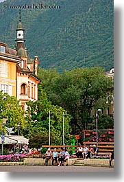bolzano, dolomites, europe, italy, piazza, streets, vertical, walther, photograph