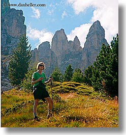 alto adige, bolzano group, dolomites, europe, hiking, italy, john linda hutchins, lindas, square format, photograph