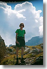 alto adige, bolzano group, dolomites, europe, hiking, italy, john linda hutchins, lindas, vertical, photograph