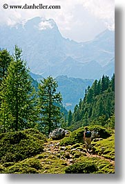 alto adige, civetta, dolomites, europe, hikers, italy, mountains, vertical, photograph