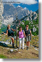 alto adige, cortina group, dolomites, europe, italy, shonu das, tres amigas, vertical, photograph