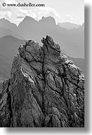 alto adige, black and white, dolomites, europe, italy, la rocchetta, scenics, vertical, photograph