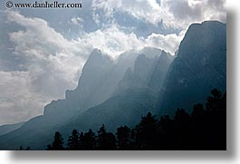 alto adige, dolomites, europe, horizontal, italy, layered, layered mountains, mountains, photograph