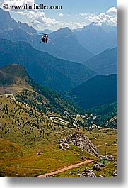 alto adige, dolomites, europe, helicopter, italy, vertical, photograph