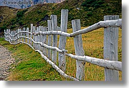 alto adige, dolomites, europe, fences, horizontal, italy, long, nature, woods, photograph