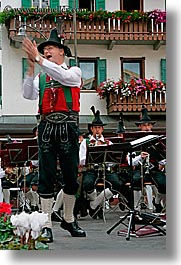 alto adige, bands, director, dolomites, europe, italy, men, people, vertical, photograph