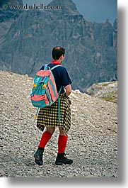 alto adige, colorful, dolomites, europe, hikers, italy, men, people, vertical, photograph
