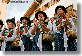 alto adige, barrels, dolomites, europe, girls, horizontal, italy, people, womens, photograph