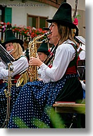 alto adige, dolomites, europe, italy, people, sax, vertical, womens, photograph