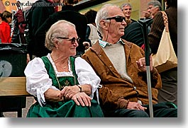 alto adige, couples, dolomites, elderly, europe, horizontal, italy, people, photograph