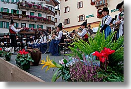 alto adige, bands, dolomites, europe, horizontal, italy, ladin, people, photograph