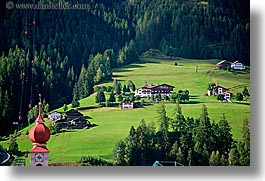 alto adige, dolomites, europe, horizontal, italy, st ulrich, towns, photograph