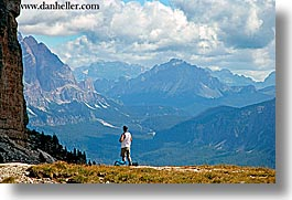 alto adige, dolomites, europe, horizontal, italy, men, scenery, val orsolina, photograph