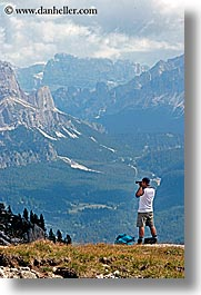alto adige, dolomites, europe, italy, men, scenery, val orsolina, vertical, photograph