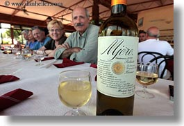 alcohol, europe, foods, horizontal, italy, lunch, mjere, puglia, tables, white, wines, photograph