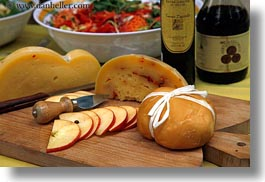 apples, cheese, europe, foods, horizontal, italy, puglia, photograph