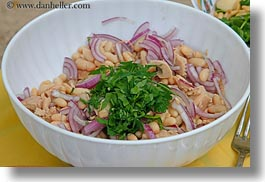 beans, europe, foods, horizontal, italy, onions, puglia, salad, white, photograph