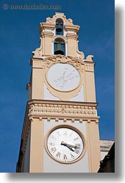 clock tower, europe, gallipoli, italy, puglia, vertical, photograph