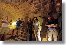 europe, gallipoli, hearing, horizontal, interprertation, italy, olive press, people, puglia, tourists, visitors, photograph