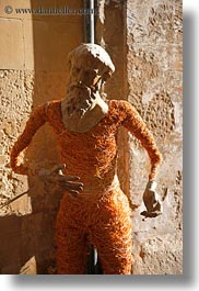 arts, europe, italy, lecce, mache, men, paper, paper mache, puglia, vertical, photograph