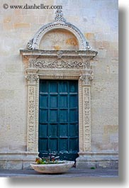 blues, doors, europe, italy, lecce, puglia, vertical, photograph