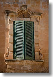 europe, green, italy, lecce, puglia, shudders, vertical, windows, photograph