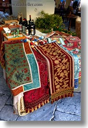 europe, italy, lecce, puglia, renaissance, rugs, vertical, photograph