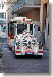 europe, italy, lecce, puglia, tourists, trains, vertical, photograph