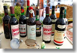 europe, horizontal, italy, lecce, puglia, various, wines, photograph