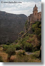 churches, cliffs, europe, italy, matera, puglia, vertical, photograph