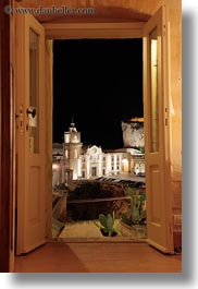 cities, doors, europe, glow, hotel st angelo, italy, long exposure, matera, nite, puglia, vertical, views, photograph