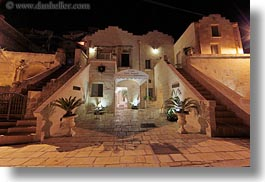 angelo, dusk, europe, glow, horizontal, hotel st angelo, hotels, italy, matera, puglia, sant, slow exposure, photograph