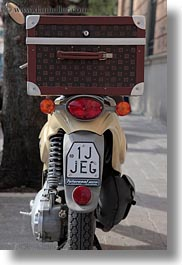 europe, italy, matera, moped, puglia, scarabeo, vertical, photograph